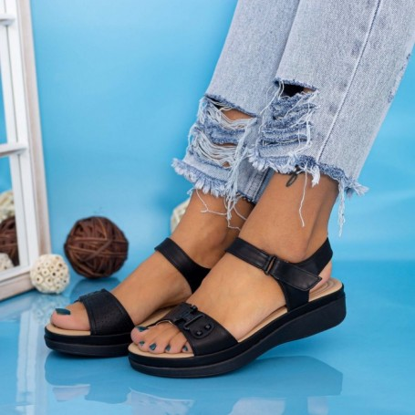 Sandale Dama GH1950 Negru Mei