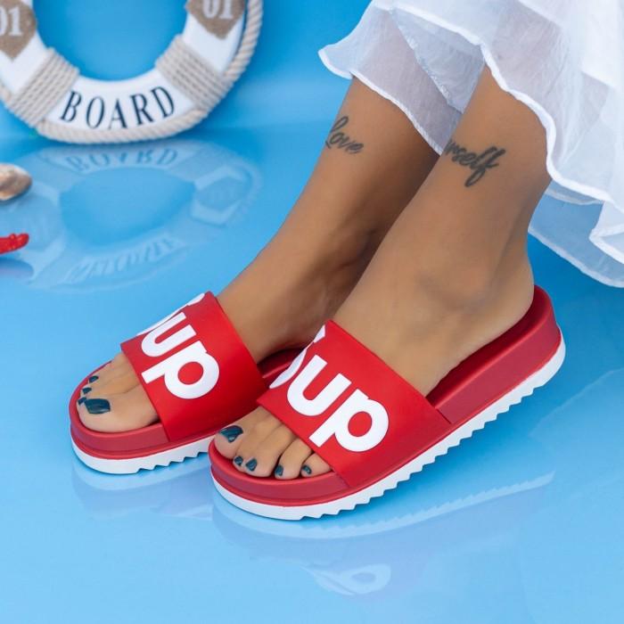 Papuci Dama X6 Rosu Mei