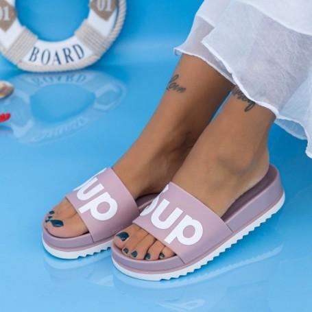 Papuci Dama X6 Roz Mei