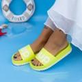 Papuci Dama X6 Galben fluorescent (N19) Mei