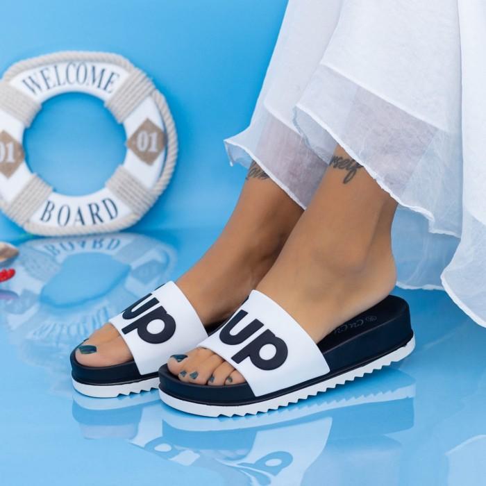 Papuci Dama X6 Alb Mei