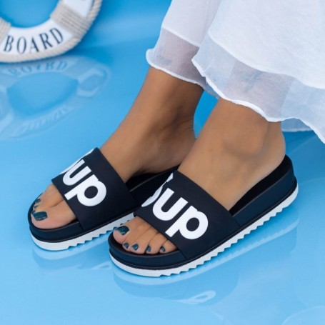 Papuci Dama X6 Negru Mei