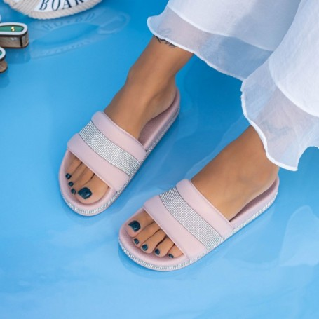 Papuci Dama X9 Roz Mei