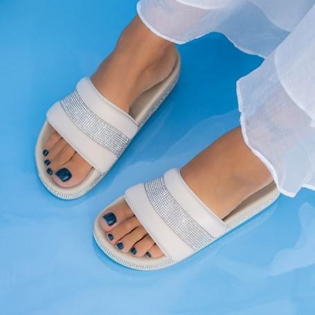Papuci Dama X9 Bej Mei