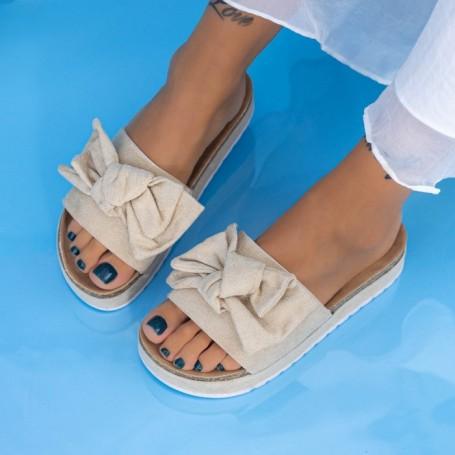 Papuci Dama X10 Bej Mei
