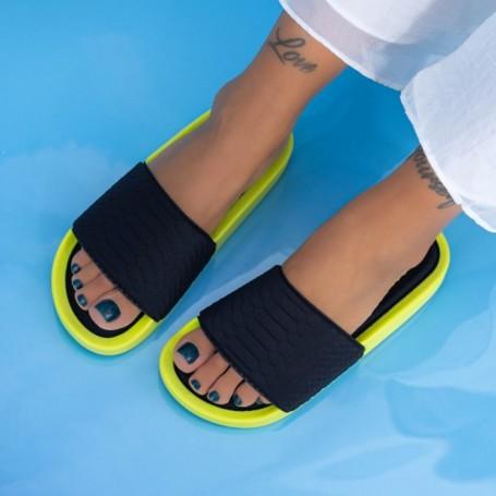 Papuci Dama X12 Galben Mei