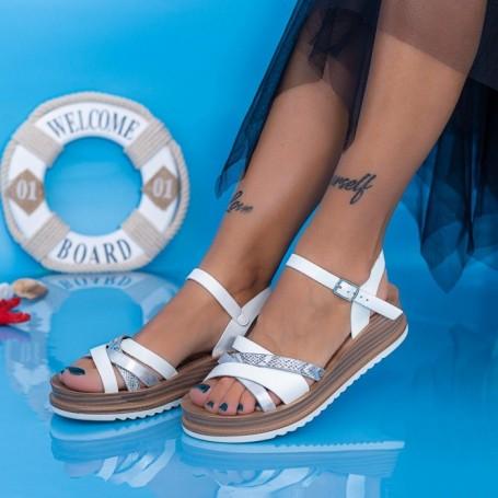 Sandale Dama CS109 Alb Mei