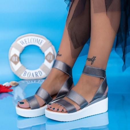 Sandale Dama cu Platforma PT13 Guncolor Mei