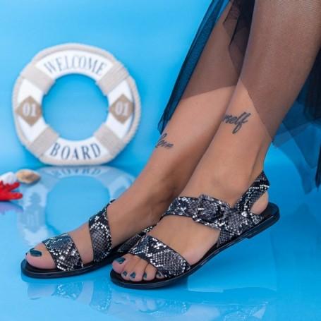 Sandale Dama XQJ2 Negru Mei