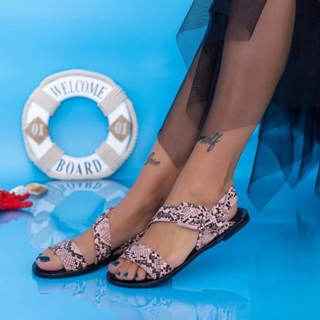 Sandale Dama XQJ2 Roz Mei