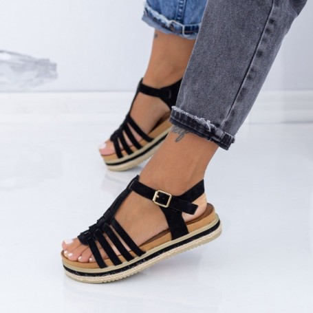 Sandale Dama LM306 Negru Mei